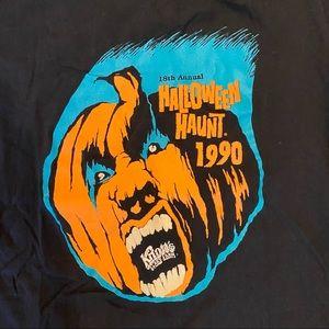 Vintage 1990 Knott's Berry Halloween Shirt Size L